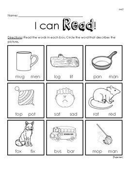 where can i read free i can read cvc worksheet 2 by miss teachers pay