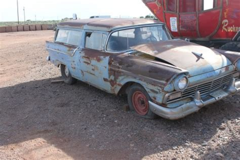 1961 ford fairlane hot rod patina for sale