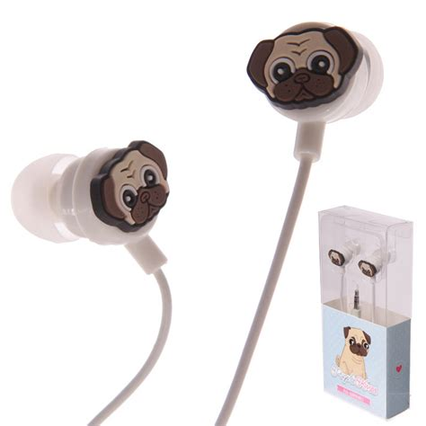 pug items pug earphones puglife