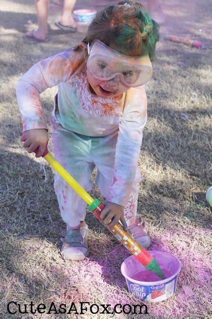 color run powder diy throw your own color fight diy color fight color run