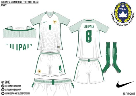 Kaos Kaki Muslimah Motif Horisontal By Tulips indonesia national football team nike alakazzam kit design