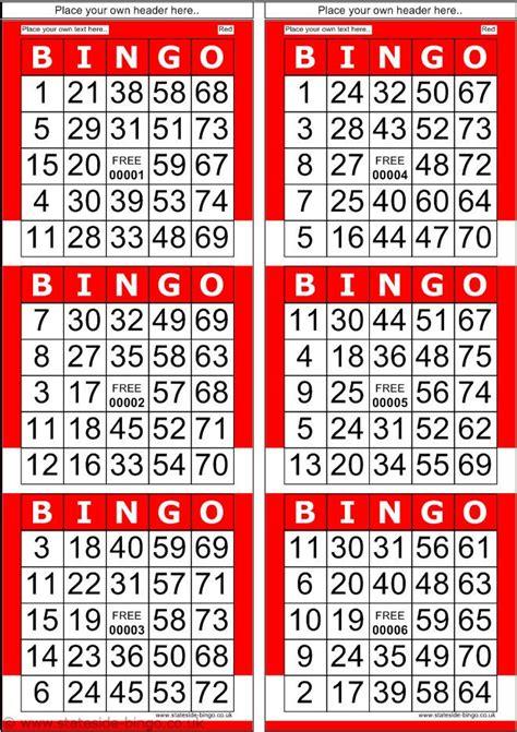 printable number bingo cards 1 75 bingo patterns printable red bingo cards with normal