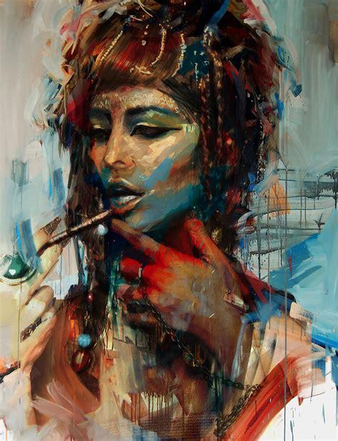 Ballerina Duvet Egyptian Culture 24 Painting By Mahnoor Shah