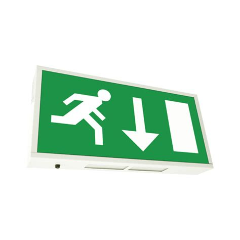 exit sign light box eterna 8w maintained emergency exit box emergency exit