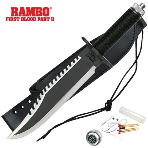buy knife rambo ii blood fixed blade knife budk knives