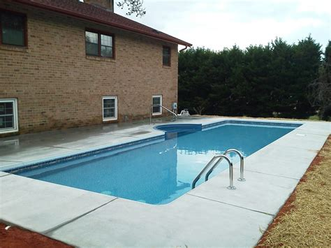 in ground lap pools in ground swimming pools asheboro nc creative pool