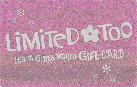 Limited Too Gift Card - 18 reasons to thank limited too for our 90 s fashions the odyssey