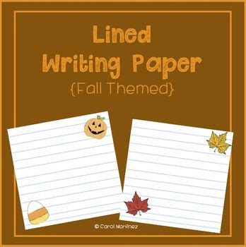 fall themed writing paper fall themes writing papers and templates on