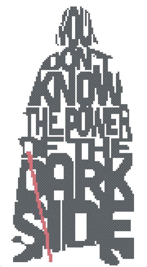 Pdf Wars Darths by Cross Stitch Wars Darth Vader Pdf Cross Stitch