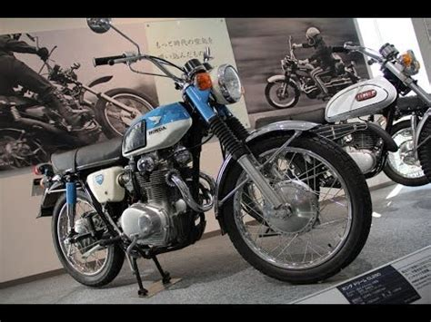 1968 honda dream cl250 street scrambler 123vid