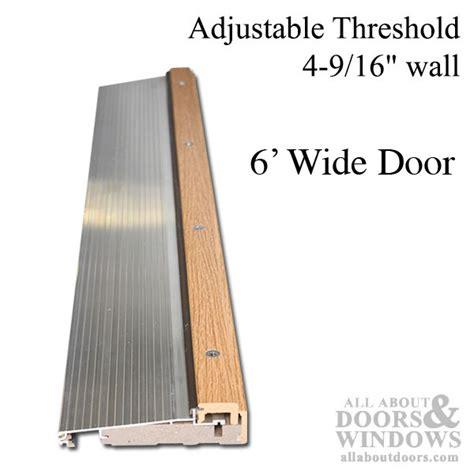 replacement threshold exterior door adjustable door threshold adjustable threshold all