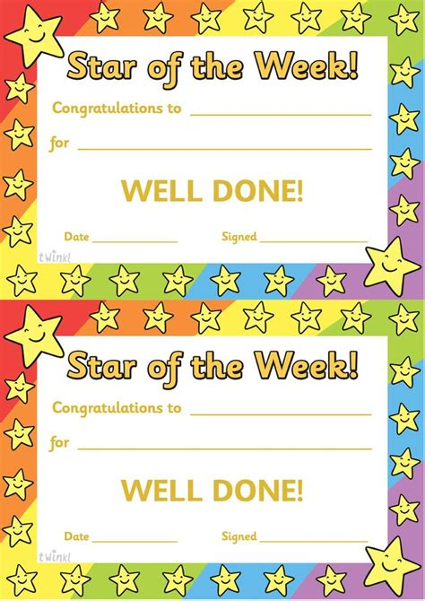yellow student leadership award certificate templates by canva