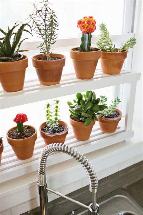 wonderful Living Room Office Ideas #3: diy-window-ledge-plant-shelf.jpg