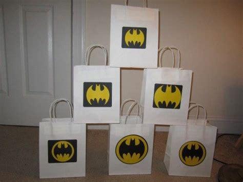 Goodie Bag Paper Bag Batman batman goody bags or gift bags goody bags bags and etsy