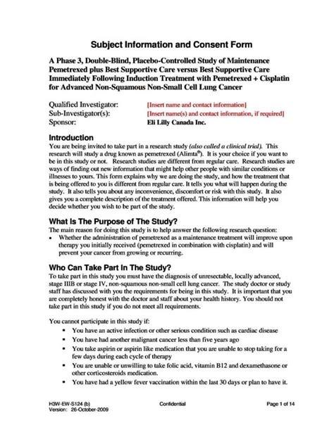 standard consent form template standard consent form template sletemplatess