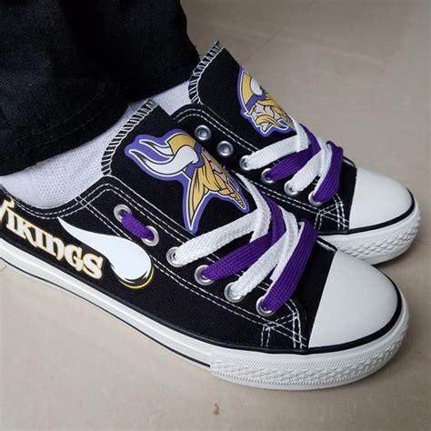 nfl shoes for fans minnesota vikings handmade converse minnesota vikings