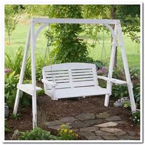 Patio Swing With Frame Best 25 Porch Swing Frame Ideas On Garden