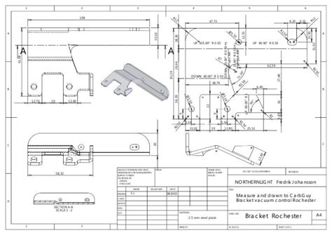 solidworks tutorial blueprints drawings by fredrik johansson at coroflot com