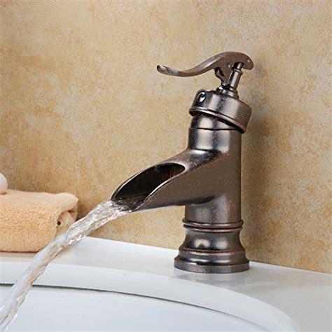 hiendure 174 centerset single handle rustic bronze bathroom