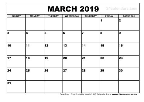 printable calendar april 2018 to march 2019 march 2019 printable calendar 2018 calendar printable