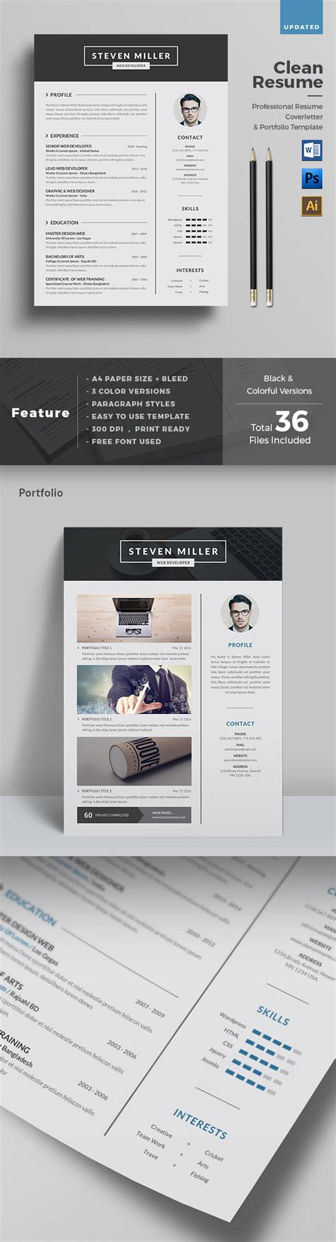 Clean Creative Resume Templates by 25 Creative Resume Templates To Land A New In Style