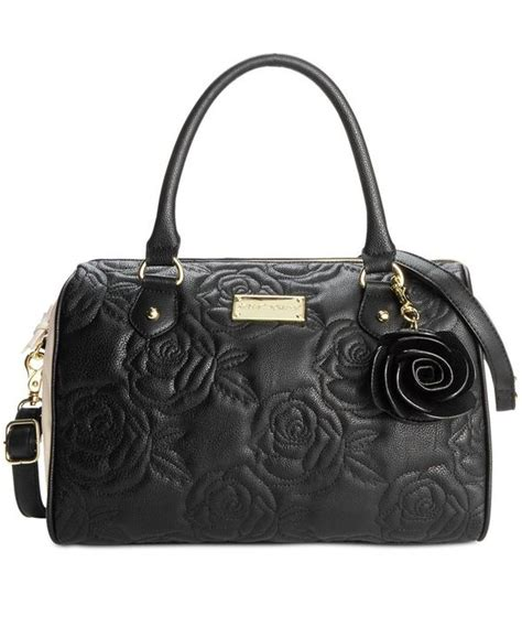 Betsey Johnson Handbag Quilted Satchel by Betsey Johnson Quilted Satchel Betsey Johnson