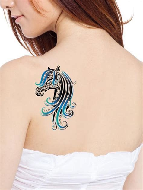 horse face tattoo designs 15 simple traditional designs with meanings