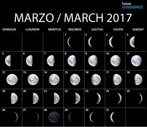 Calendario Lunar Marzo 2017 Argentina Calendario Lunar