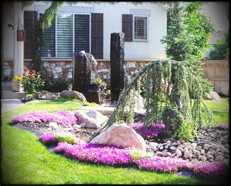 rock garden designs front yard front yard landscape designs rock garden in design ideas