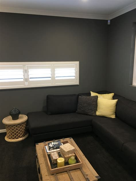 media room paint colors media room colour quot grey quot dulux house ideas in 2019
