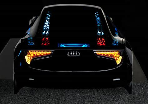 oled le audi oled lighting fubiz media