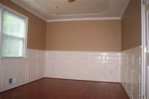 Raised panel wainscoting with double panels