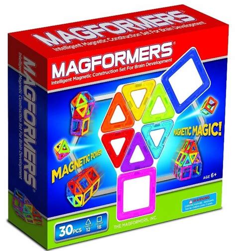 magformers 30 set magformers rainbow 30 set a mighty