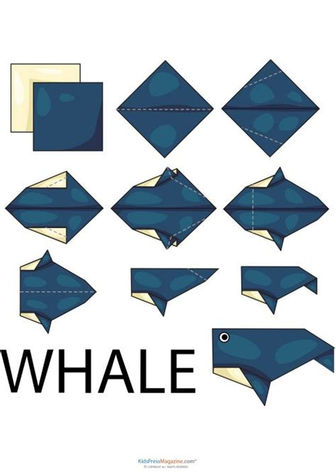Origami Whales - easy origami whale 2 easy origami origami and simple