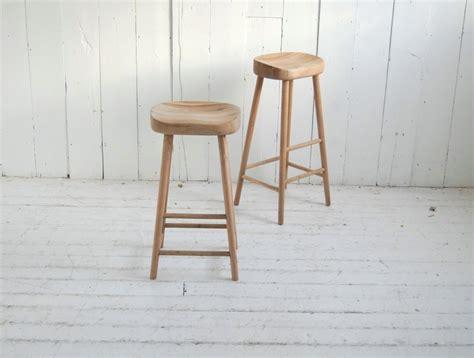 Oak Stools Uk by Rustic Oak Bar Stool Eastburn Country Furniture