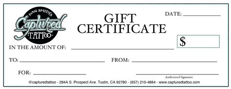 pilates yoga gift certificate template design