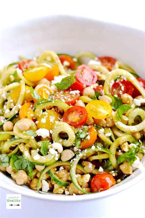 printable spiralizer recipes spiralizer greek salad a pinch of healthy