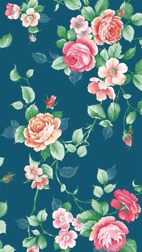 wallpaper bunga for iphone floral background iphone 5s wallpaper download more