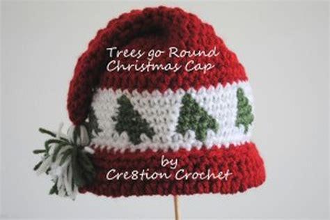 xmas hat pattern adorable crochet christmas cap for children free pattern
