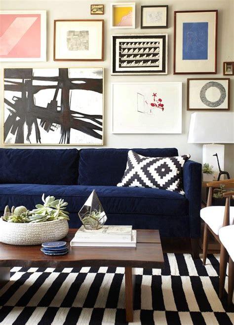 Best 25 Blue Sofa Design Ideas On Pinterest Living Room Blue Living Room Brown Sofa