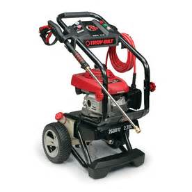 Troy Bilt Honda Shop Troy Bilt 2600 Psi 2 3 Gpm Gas Pressure Washer With