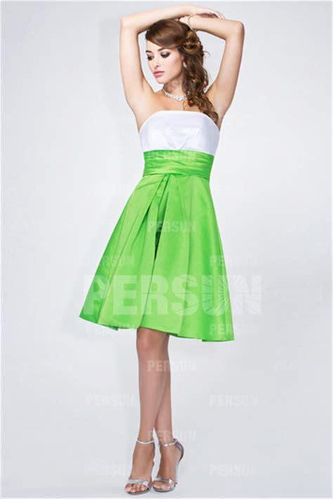 Robe Blanche Simple Pour Mariage - simple robe blanche et verte pour mariage persun fr