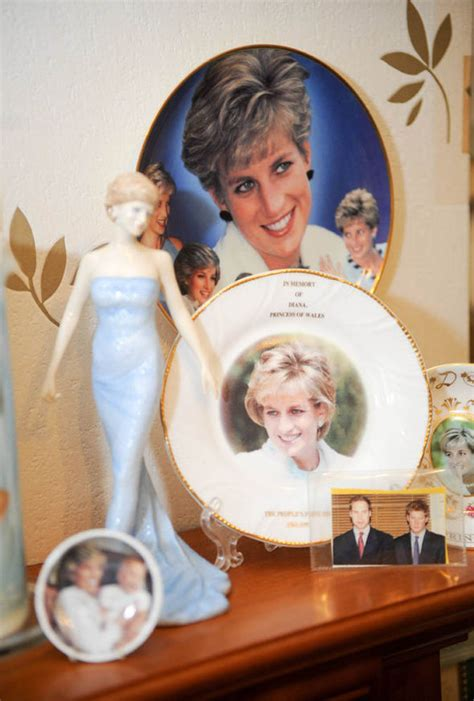 Collection Anniversary Princess princess diana s fan displays collection to commemorate