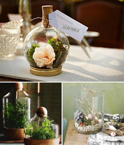 Beachy Dining Room Tables by Wedding Diy Project Diy Terrarium For The Table