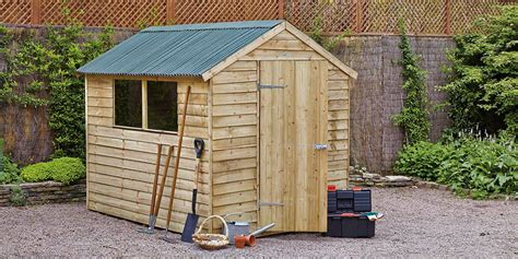build erect  shed guide  homebasecouk
