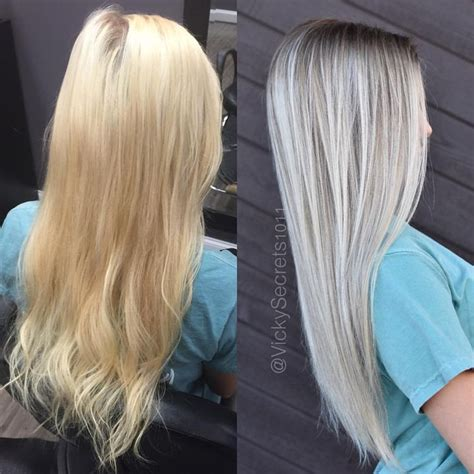silver hair with blonde highlights bleached pictures of 109 likes 3 comments victoria sears victoria sears