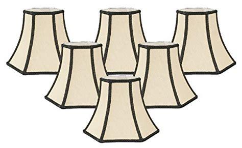 Royal designs decorative trim hexagon chandelier lamp shade beige