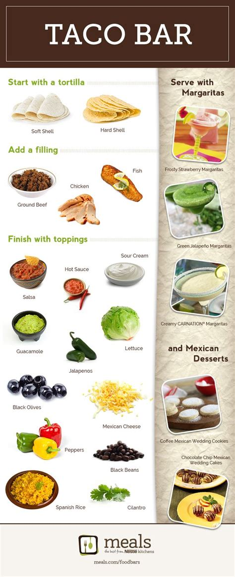 nacho bar toppings list tacos wedding and happy on pinterest