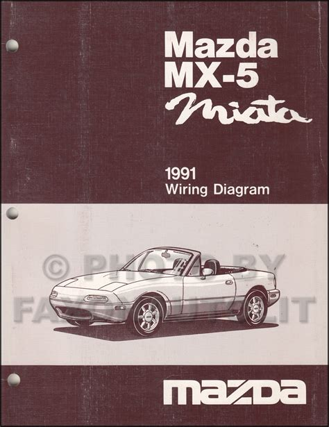 car repair manuals download 2000 mazda mx 5 interior lighting 1991 mazda mx 5 miata repair shop manual original