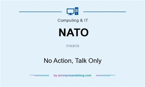 Talk Only nato no talk only in governmental by